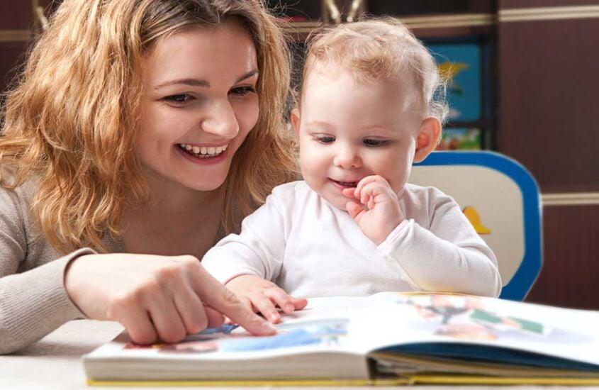 A importância da leitura para bebês