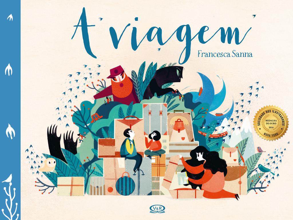 A viagem (autora Francesca Sanna, tradutor Fabrício Valério, editora V&R)