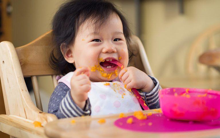 alimentação bebês