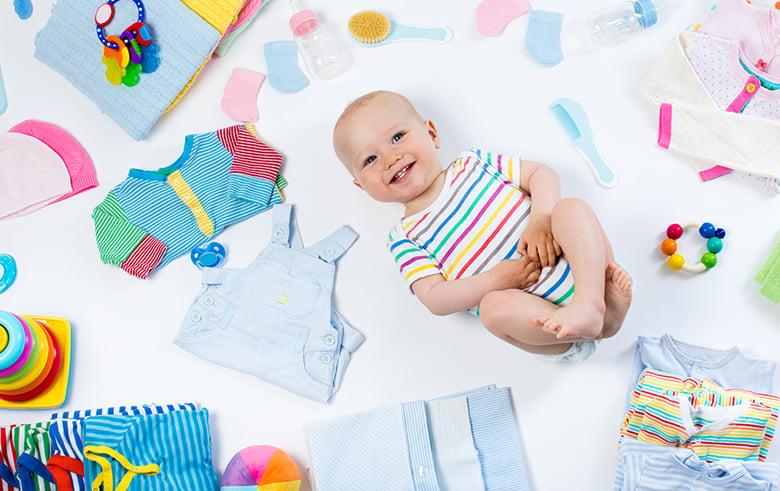 enxoval bebês