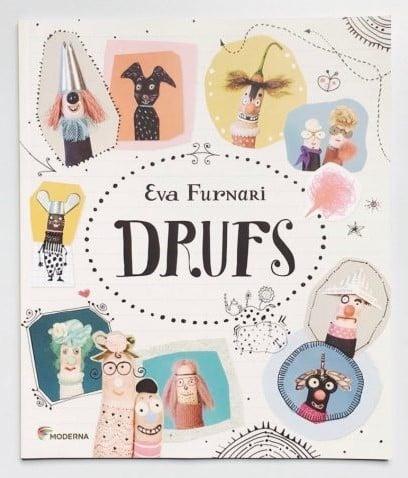 Livros infantis sobre família: Capa do livro drufs