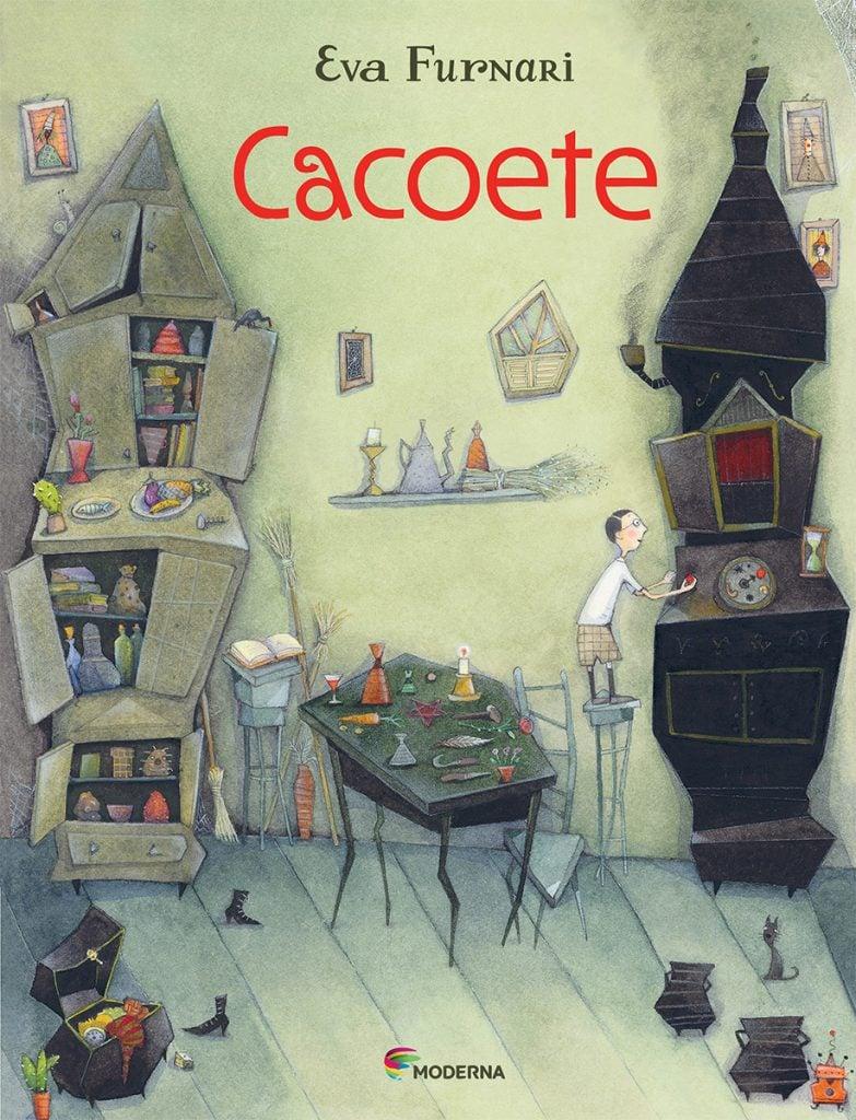 Livro infantil Cacoete - Eva Furnari - Editora Moderna