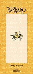 Livro-imagem: melhores livros-imagem: capa do livro Bárbaro do escritor Renato Moriconi