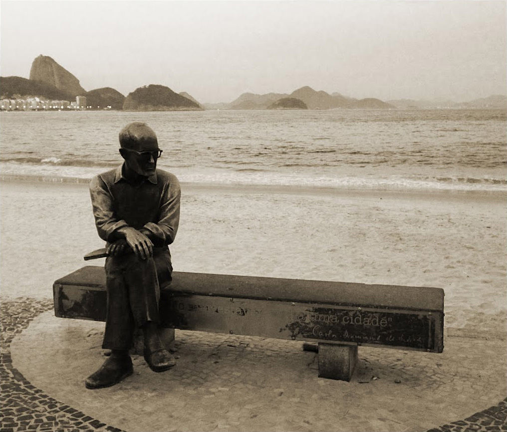 Carlos drummond escultura