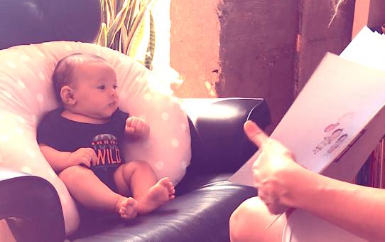 Como ler para bebês