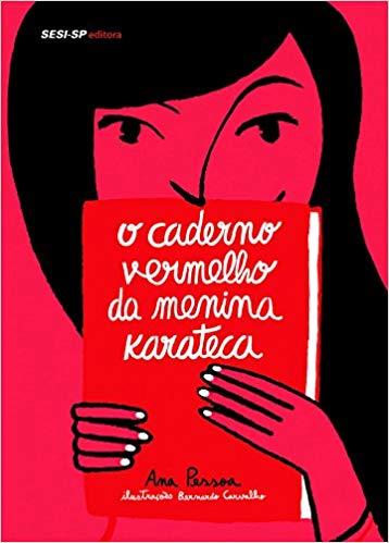 livro o caderno vermelho da menina karateca_clube quindim