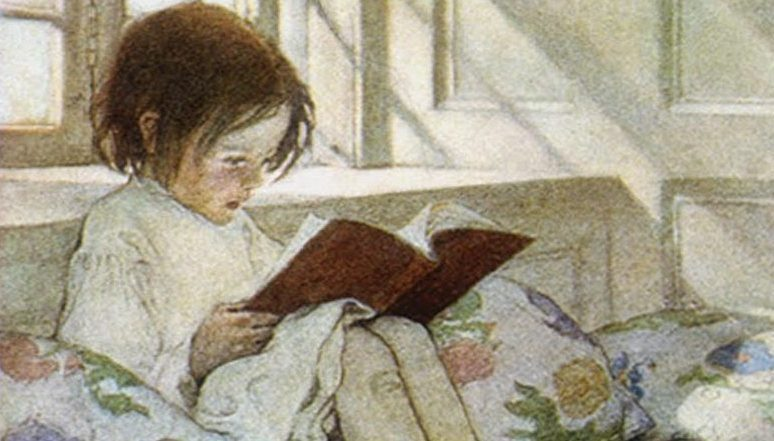 poema infantil Jessie Willcox Smith