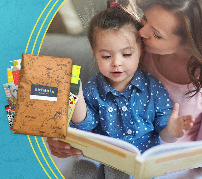 Quindim presenteia as crianças com um mês de livros grátis no Dia Nacional do Livro Infantil