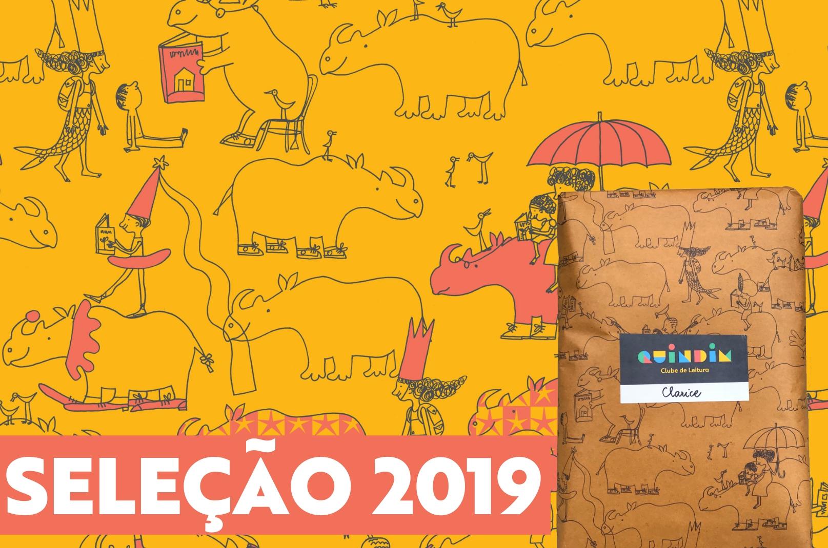 Conheça os livros infantis escolhidos pelo Clube Quindim em 2019