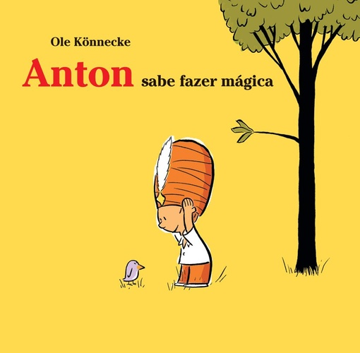Anton sabe fazer mágica (autor Ole Könnecke, editora WMF Martins Fontes)