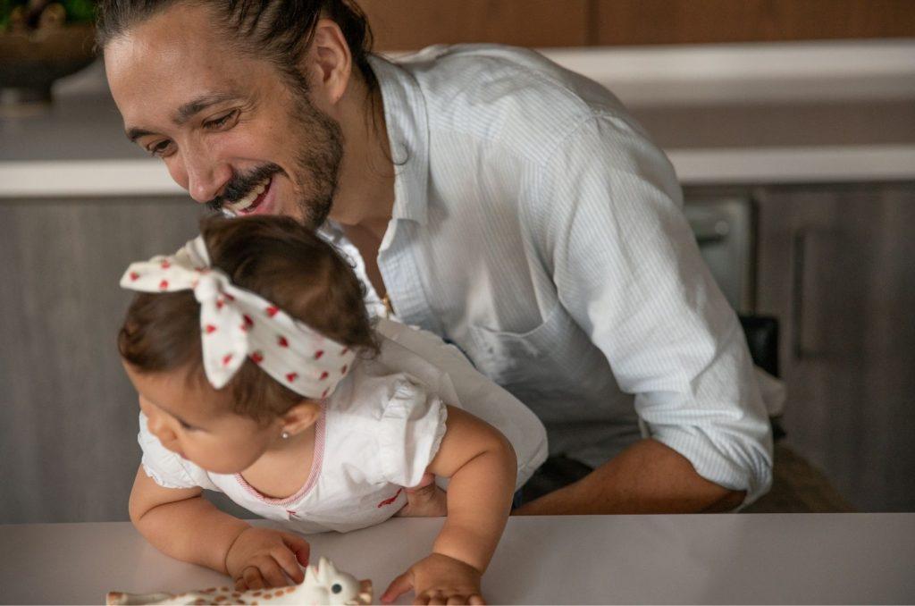 paternidade ativa pai com filha