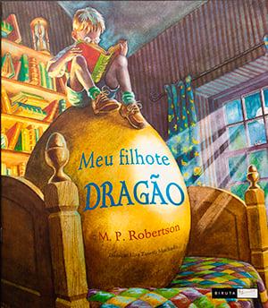 Meu filhote dragão M. P. Robertson editora biruta