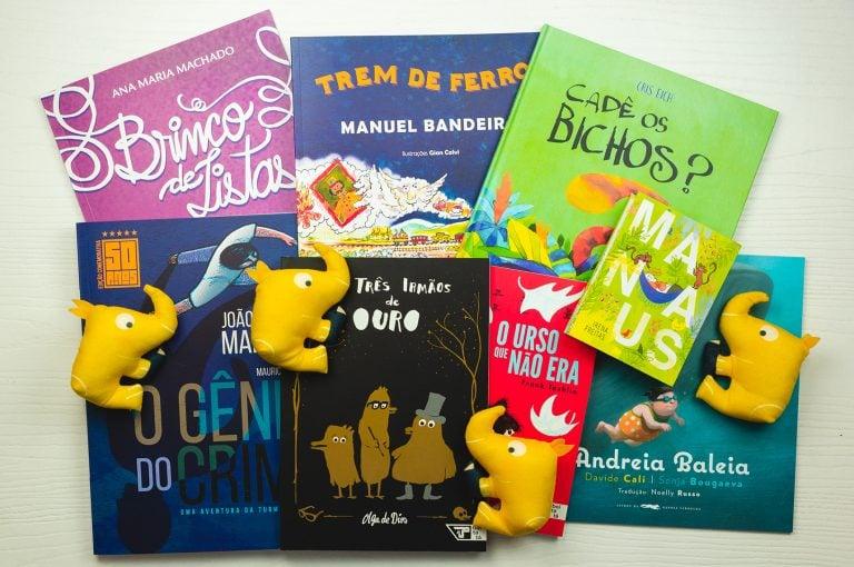 Livros Infantis Seleção Quindim Outubro 2019