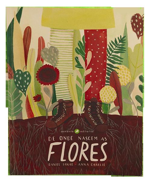 de onde nascem as flores livros para a fase de alfabetização