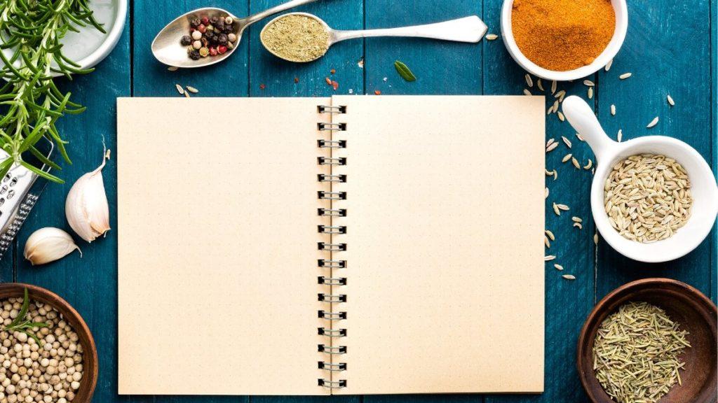 livro de receitas caseiro