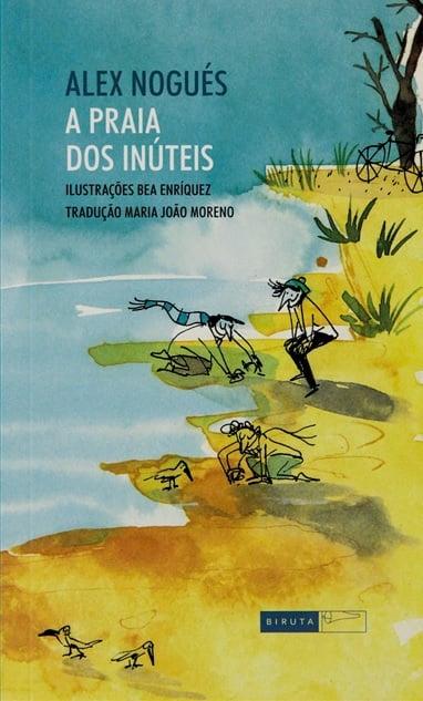 livros que incentivam a criatividade das crianças de 9 a 12 anos: A praia dos inúteis
