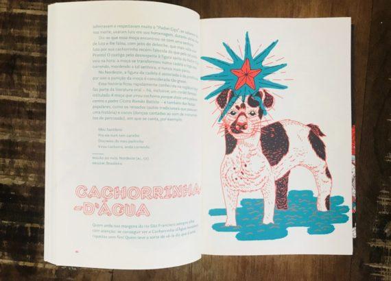 Cachorrinha-d'água personagens do folclore que as crianças vao amar conhecer