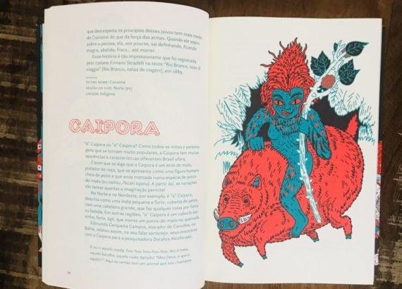 Caipora folclore