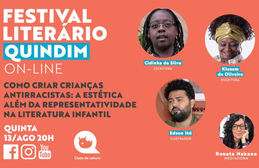 Festival Literário: Como criar crianças antirracistas – a estética além da representatividade na literatura infantil