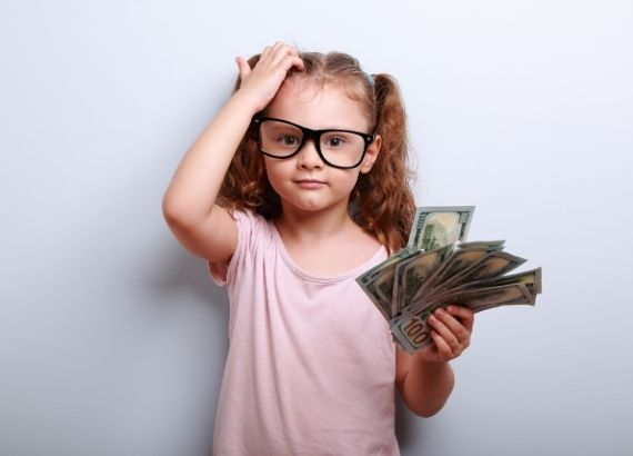 educação financeira infantil dicas