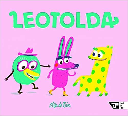 Livros de monstros para crianças de 3 a 5 anos: Leotolda