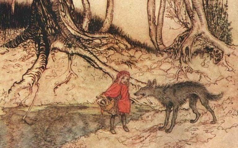 Contos populares e contos folclóricos. Chapeuzinho Vermelho