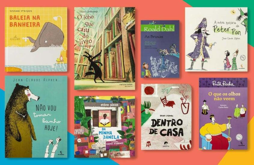 HIstórias infantis para ler nas férias