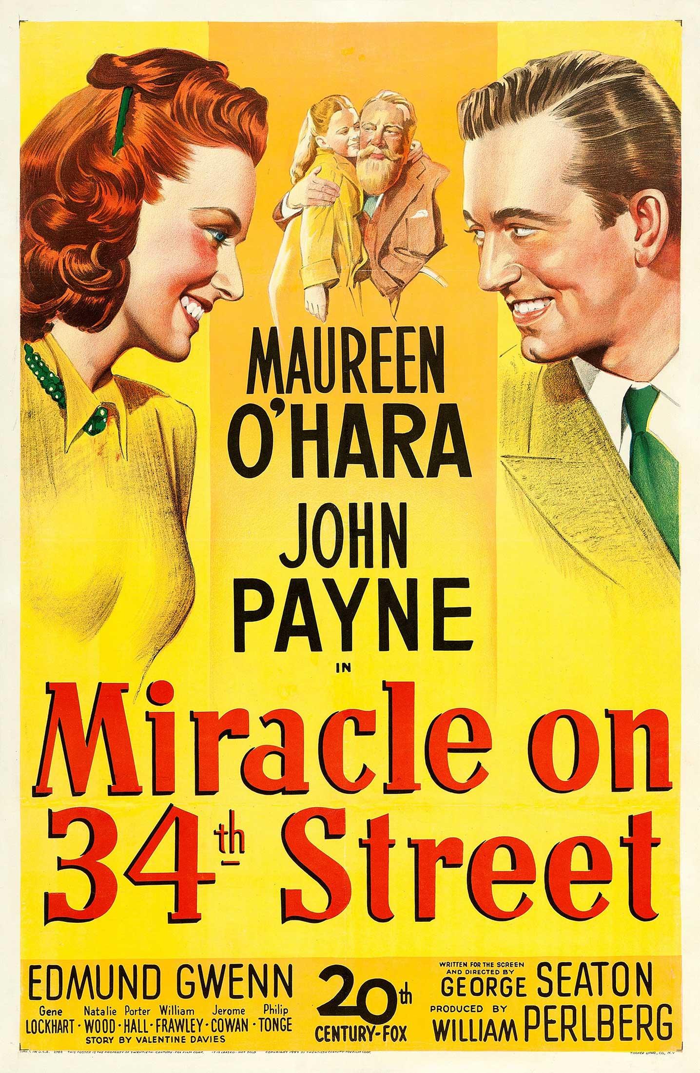 filmes de natal para crianças: o milagre da rua 34
