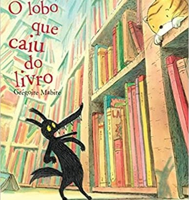 histórias infantis: o lobo que caiu do livro