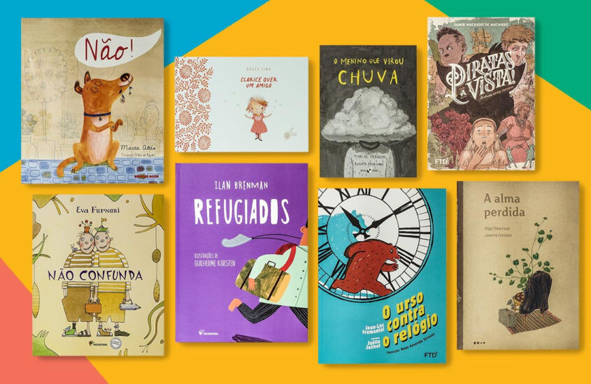 Conheça os títulos de livros infantis enviados pelo Quindim em dezembro
