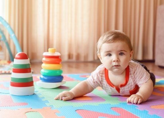 picos de crescimento do bebê