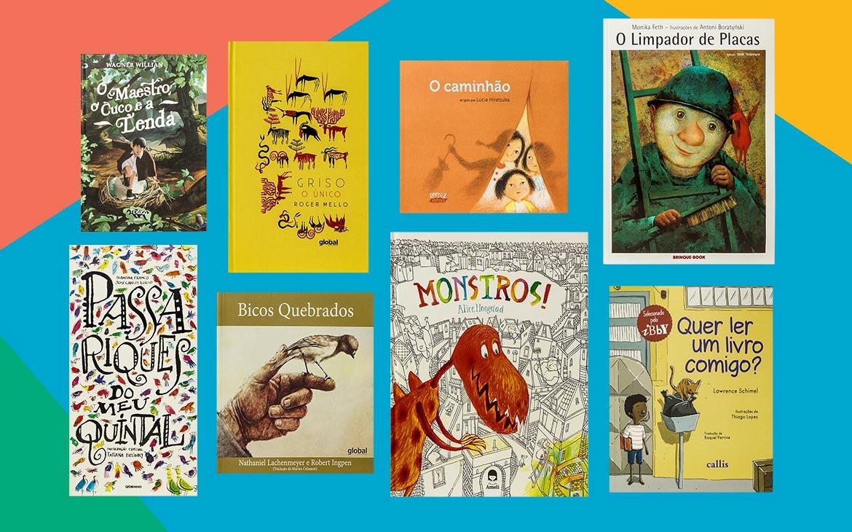 sugestões de livros infantis para quem está cansado de ler sempre o mesmo livro com as crianças