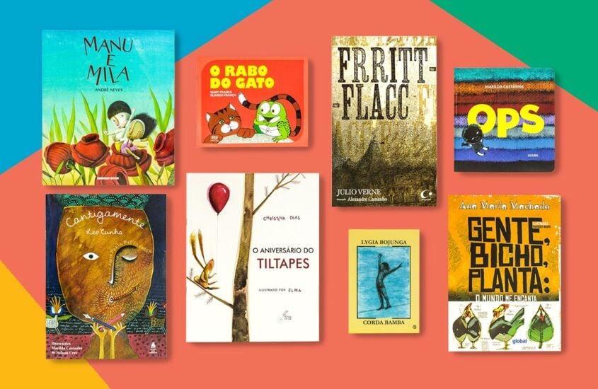 Indicação de livros infantis para crianças de 0 a 12 anos