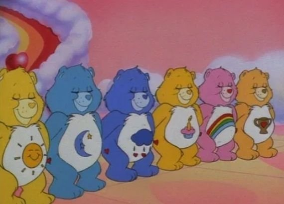 Desenhos dos anos 80. Ursinhos carinhosos