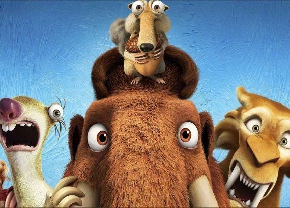 Filmes de comédia infantil anos 2000. A era do gelo
