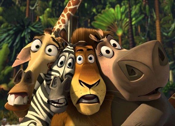 Filmes de comédia infantil para família. Filme Madagascar personagens