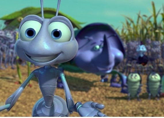 Filmes de comédia infantil para familia. Vida inseto. Pixar