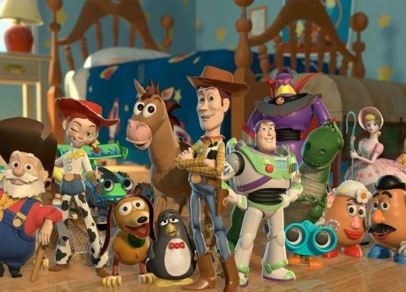 Lista de filmes de comédia infantil. Toy Story