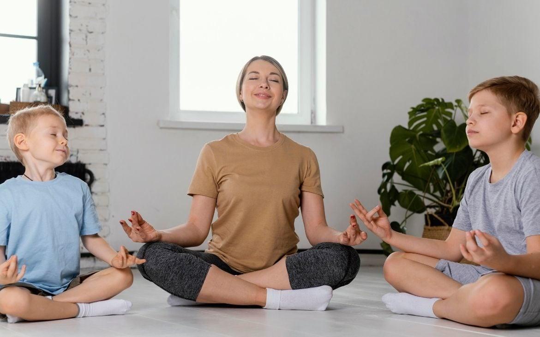 meditação infantil
