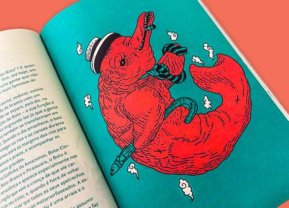 Lendas do folclore brasileiro: Boto cor-de-rosa