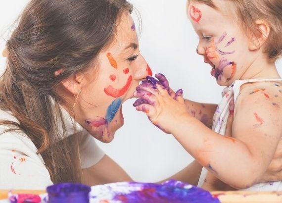 A importância da pintura na educação infantil. 9 brincadeiras com tinta para educação infantil para se divertir com a criançada