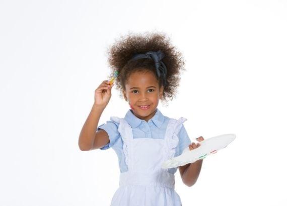 A importância da pintura na educação infantil. Entenda porque você deve deixar seu filho pintar, rabiscar e desenhar à vontade