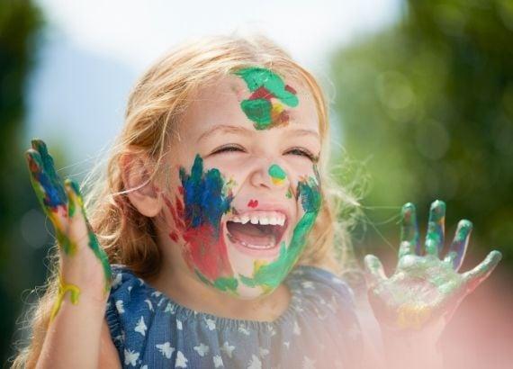 Qual é a importância da pintura na educação infantil