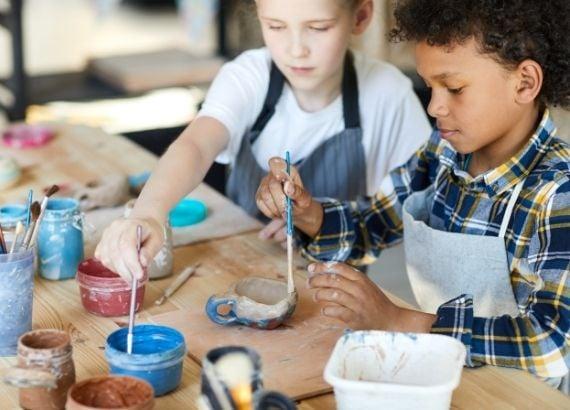 Veja a importância da pintura na educação infantil