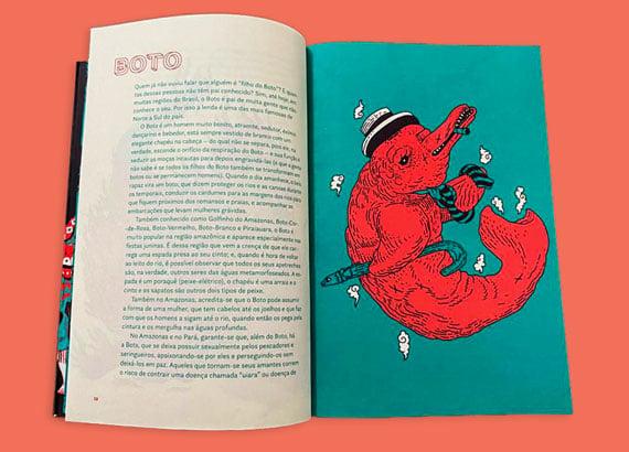 Histórias do folclore brasileiro: Boto cor-de-rosa