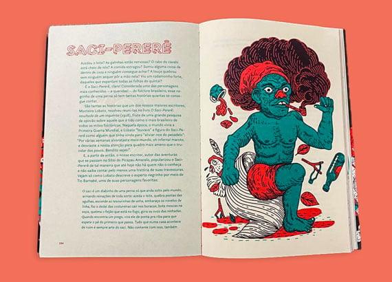 Histórias do folclore brasileiro: saci-pererê