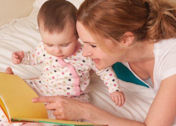 Como contar histórias para bebês. Como ler para bebês