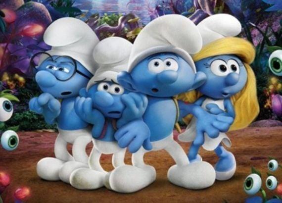 Filmes infantis de 2017. Os Smurfs 2