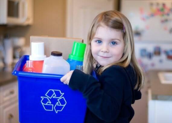 Ações sustentáveis para ensinar às crianças
