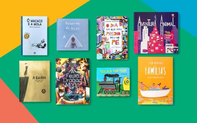 Livros que vão encantar os pequenos leitores